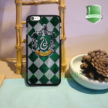 Harry Potter Slytherin House Original Black Cell Phone Cases For Iphone 7 7plus 6 6 plus 6s 6splus 5 5s 5c 4 4s M#1074