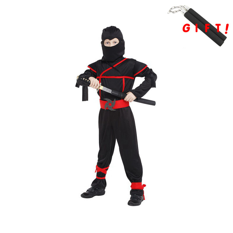2017 Kids Clothes For Boys Halloween Cosplay Outfits Tracksuit Cartoon Sport Suit Swordsman Costume With Gift Boys Clothing Set<br><br>Aliexpress