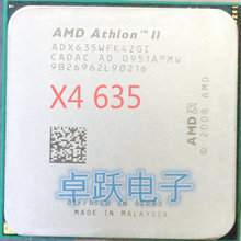 AMD ii Athlon x4 635 quad-core scattered pieces cpu am3 2.9G 2M cpu quad-core processor free shipping(China)