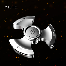 YIJIE Fidget Spinner hand Metal Fidget Spinner Anti Stress Puzzle Christmas Gift Toys to Kids Adults Finger Spiner Toys(China)