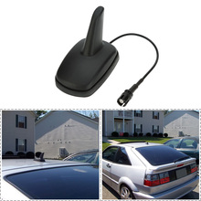 1pcs Car Truck Van Roof Shark Fin Antenna Radio Signal Aerial Universal For BMW/Honda/Toyota/Hyundai/VW/Kia/Nissan Car Styling(China)