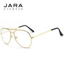 JARA 2017 Brand Alloy Practical Computer Goggles Resistant Glasses Women Men Anti Fatigue Eye Protection Glasses Frame Cheap