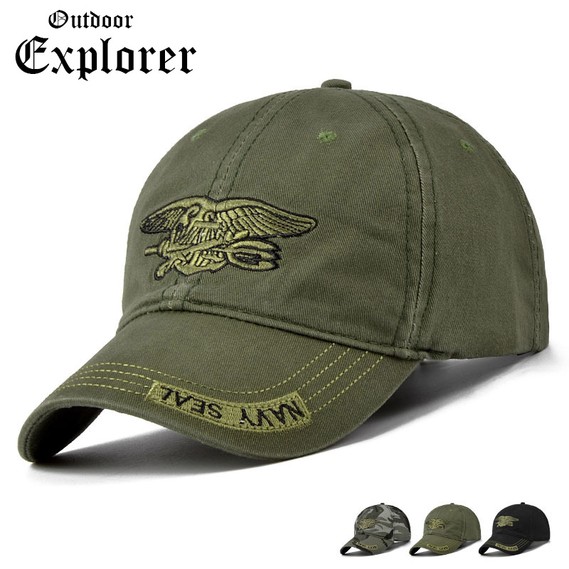 Adjustable Mens Baseball Caps Tactical Style Soldier Airsoft Sniper Camouflage Caps Fish Camp Hike Hunte Visor Hats<br>