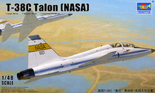 "Trumpeter 1/48 scale model 02878 US T-38C"" paw claw & trainer (NASA)(China)"