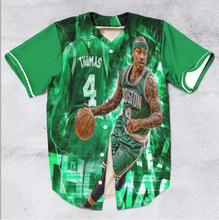 10 Styles Real American Size Team Players  3D Sublimation Print Custom made Button up baseball jersey plus size