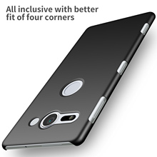Buy Sony Xperia XZ2 Compact Case High Hard PC Slim Coque Matte Skin Protective Back cover cases Sony XZ2 Compact for $4.79 in AliExpress store