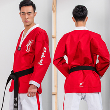 adult children Taekwondo clothes super absorbent and quick drying,Taekwondo Clothes for Poomsae & Training,WTF Uniform,160-190cm