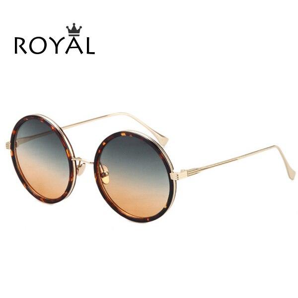 ROYAL GIRL Top Quality Women luxury Brand designer Sunglasses Round Sun glasses mirrored shades ss661<br><br>Aliexpress