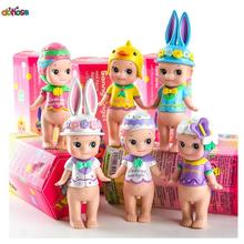 Japan Anime Sonny Angel Figure Doll Happy Easter Series Action Figure PVC Collection Model Kids Toy Doll(China)