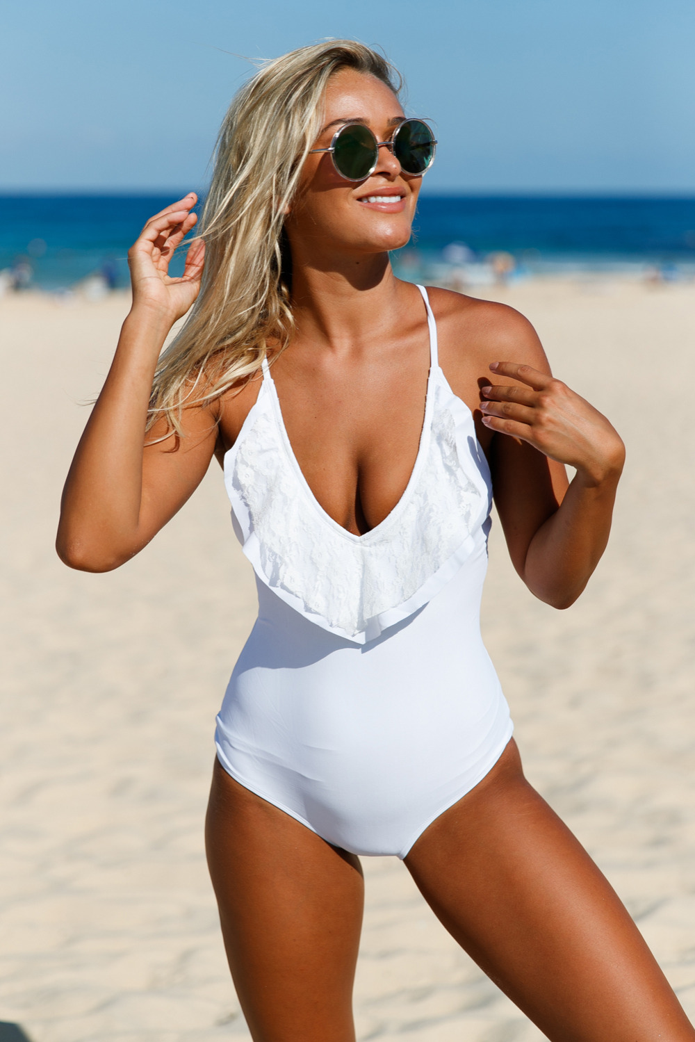 White-Lace-Ruffle-One-Piece-Swimsuit-LC410220-1-2