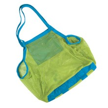 1 Pc Hot Sell Kids Baby Sand Away Carry Beach Toys Pouch Tote Mesh Childrens Storage Bag Free Shipping