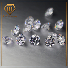 Wax Setting A Synthetic Gemstone All White CZ 0.9mm~3mm Round Cubic Zirconia Stone Loose CZ Stone Wholesale