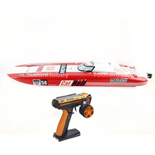 Buy G30E ARTR-RC FiberGlass Gasoline RC Racing Boat 30CC Engine RadioSys Servos Red for $759.00 in AliExpress store
