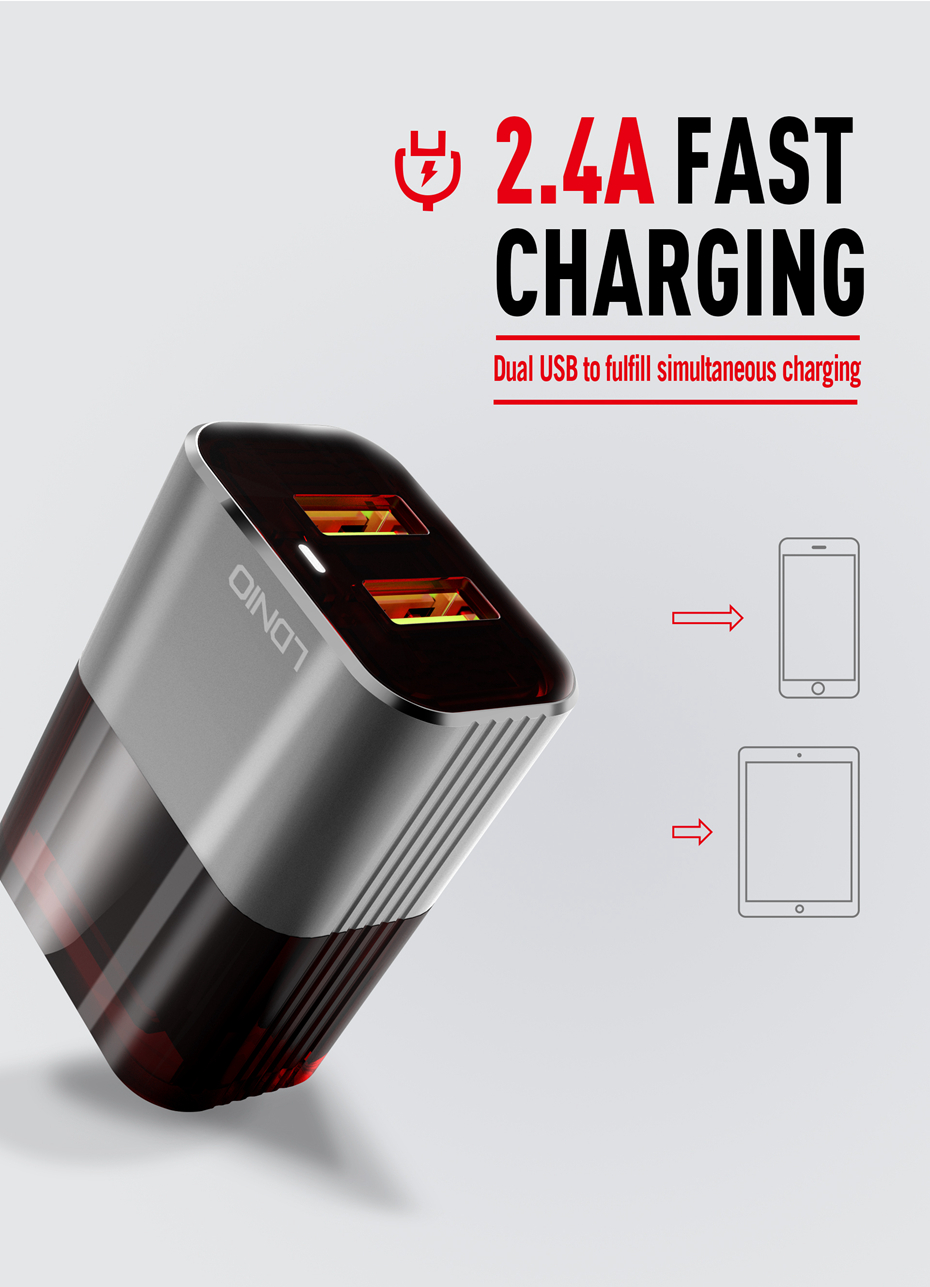 LDNIO wall charger (3)