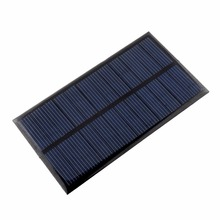 Portable Mini 6V 1W Solar Panel Bank Solar Power Panel Solar System Module Home DIY Panel For Smart Cell Phone Toy Chargers