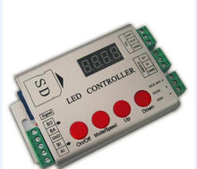 led pixel controller;SD card;2048pixels controller;support dmx console(to select the programmes);2811/2812/WS2801/TM1804/WS2821
