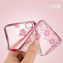 For one plus 5 case Luxury Diamond Flowers Secret Garden Soft TPU Phone Case For oneplus 5 A5000 Five 5.5'' Phone case fundas(China)