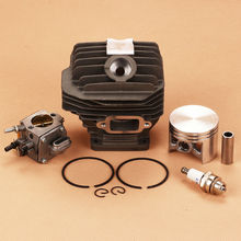 New Cylinder Piston Kit Carburetor Carb Fit Calm Stihl 044 MS440 MS 440 Replace 1128-020-1227 Chainsaw 50mm