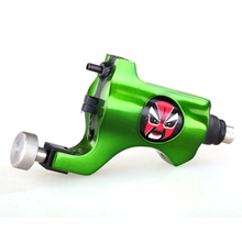 Hot Sales New Bishop Rotary Tattoo Machine For Shader and Liner Green High Quality Tattoo Gun For Tattoo Supply Free Shipping