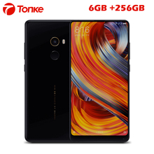 "Original XiaoMi Mix 2 Mix2 Mobile Phone 6GB 256GB Snapdragon 835 Octa Core 5.99"" FHD Display Ceramics Body Full Screen Phone(China)"