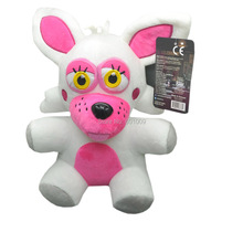 "Free Shipping EMS 100/Lot Funtime Foxy 9.5"" Five Nights At Freddy's 4 Plush Doll Stuffed Toy(China)"