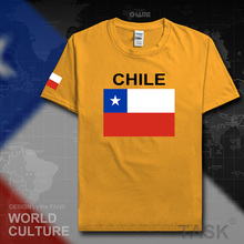 Chile men t shirts Chilean 2017 jerseys CL nation team 100% cotton t-shirt tops fitness gyms clothing crossfit tees country flag