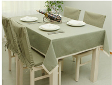 Floral Printed Tablecloths For Rectangular Green Flower Table Cover For Home Vintage Linen Table Cloth