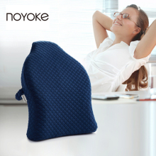 NOYOKE 40*45*13 US Imports of Raw Materials Memory Foam Waist Cushion Office Nap Pillow Chair Car Cushion Sofa Cushions Pillows(China)