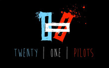 "Twenty One Pilots Music Band Group Fabric poster  21"" x 13""  Decor -04"