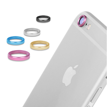 Metal Rear Camera Lens Protective Ring Cover Protector Protection  For iPhone 6 6s 6s plus Case Luxury Mobile Phone Accessories