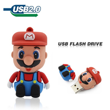 U disk usb flash drive 2GB 4GB 8GB 16GB 32GB 64GB genuine special Super Mario lovely creative personality pen drive pendrive