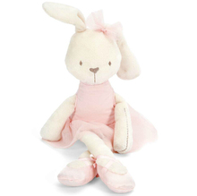 1pc 45cm Cute Rabbit with Pink Dress Baby Plush Toy Soft Ballet Bunny Rabbit Doll Kids Comfort Doll Best Gift for Children