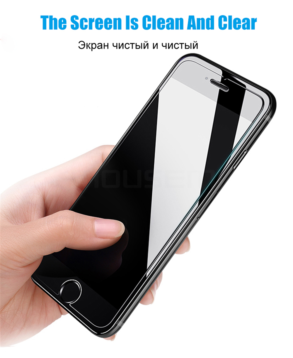 MOUSEMI Screen Protector For iPhone 6 6s Glass Tempered Scratch Proof 9H 2.5D For iPhone 6s 6 Plus Tempered Glass Protection (1)