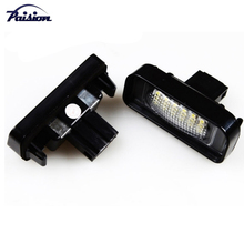 No Error LED LICENSE PLATE LIGHT SUPER WHITE 18SMD for MERCEDES BENZ W220 S320 S420 S430