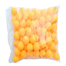 Wholesale Ping Pong Balls 100pcs 2 Stars 40mm Yellow Table Tennis Balls New Material Plastic Competition Training