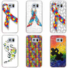 158 Puzzle Autism Awareness Style Cover Case for Samsung Galaxy S3 S3 Mini S4 S4 Mini S5 Mini S6 S6 edge&plus S7 S7 Edge S8 plus