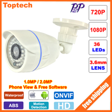 HD IP Camera 720P 1080P Surveillance Cam Waterproof 2MP CCTV IP Security Camera Network Onvif 2.0 P2P XMEye Android iPhone View