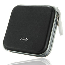 Rondaful New Non-Woven Fabric Square CD Bag DVD Plastic Disc Storage Box 40 Disc Double side CD DVD Storage Case
