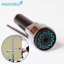Buy WASOURLF kitchen chrome plated tap small shower head spray replacement faucet adapter aerator faucet accessories for $12.44 in AliExpress store