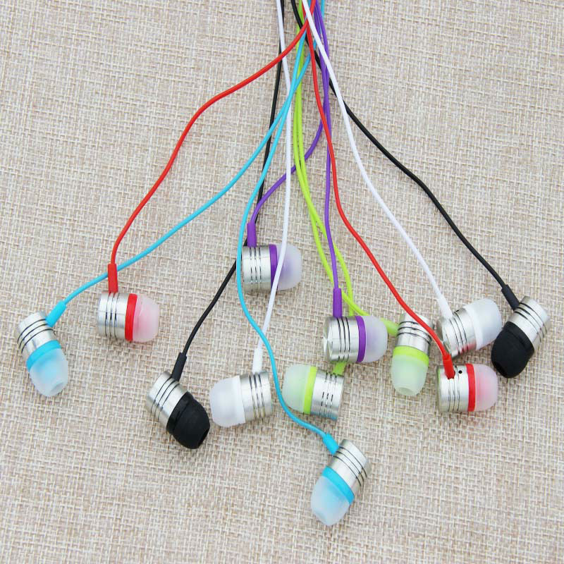 Cute Ear Phones Candy Color Wired In-ear Earphone 3.5mm Universal Jack Plug Earpiece Earbuds<br><br>Aliexpress