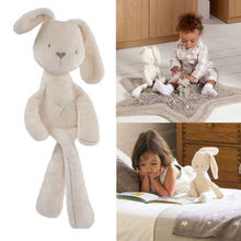 Cute Stuffed Toys Soft Good Rabbit Bunny Plush Toy Doll For Kids Baby Xmas Toys Gift