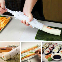 DIY New Sushi Roll Maker Kit Sushi Bazooka Rice Roller Mold Mould Chef Kitchen Set
