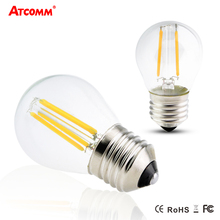 Dimmable E27 LED Filament Bulb G45 2W 4W 6W Incandescent Diode Bombillas Ampoule LED E27 110V 220V High Lumen Retro Edison Lamp