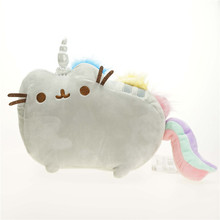 2016 Kawaii Pusheen Cat Brinquedos Plush Toys 2Size Cartoon Rainbow Soft Stuffed & Plush Animals Toys for Children