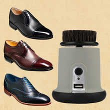 Handheld electric Shoe shine high speed Shoe shine machine leather shoes polisher