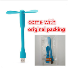For Xiaomi style USB Fan Flexible USB Portable Mini Fan with Power Bank Computer Power-saving cooling fan