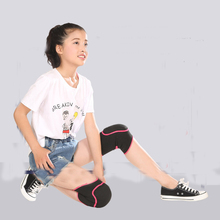 2 PCS Knee Pads Elasticity Sports Knee Support Guard Volleyball Tennis training knee support child dancing knee protect HJ10(China)