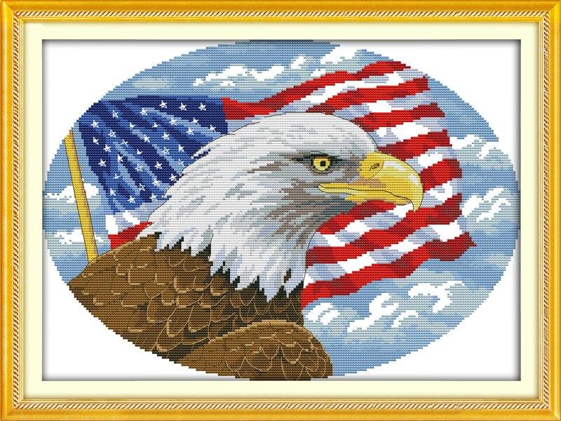 Американская вышивка схемы 52