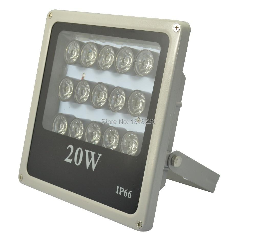 1pcs IP66 infrared illuminator 15 high power IR LED  night vision for surveillance camera visual range 100M<br>