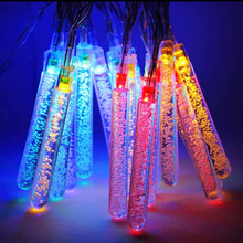 6.5M Solar LED Lamp 30LEDs Fairy Icicle Solar Power String Light Christmas Holiday Decoration Garden Waterproof Outdoor Lighting